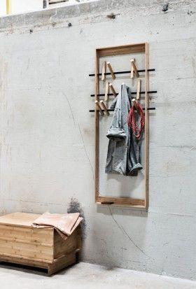 Coat Frame Wedowood Wandgarderobe Design Garderobenhaken