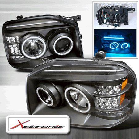 Nissan Frontier Dual CC FL Halo Projector Headlights