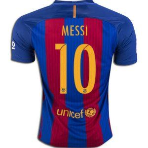 16-17 Football Shirt Barcelona Cheap Messi  10 Home Replica Jersey  F202  41e85f5dc