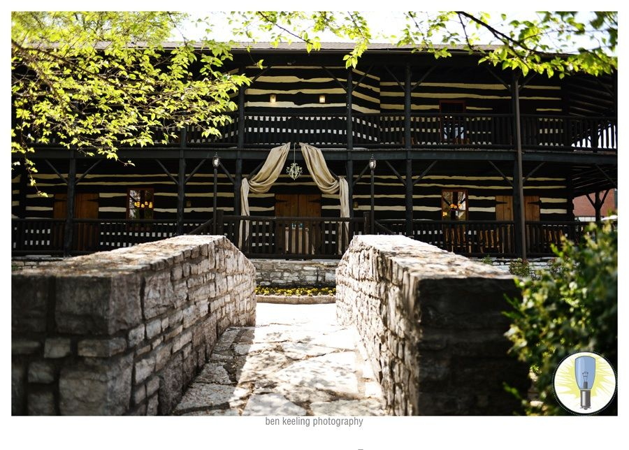 Stone Bridge And Wedding Alter At Buffalo Trace Distillery Frankfort Kentucky