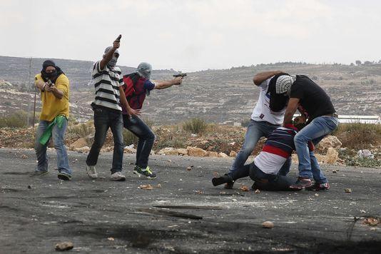 Une manifestation palestinienne infiltrée par des agents israéliens