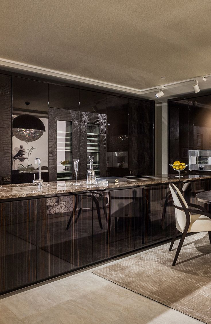 Fendi Casa Ambiente Cucina Views From Luxury Living New Showroom In Miami Design District Home