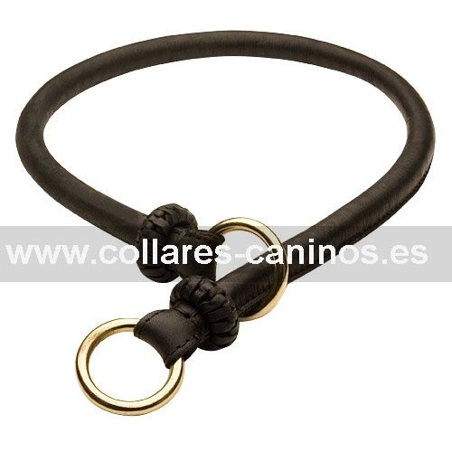 Tipos De Collares De Castigo Para Perros Collar Ancho Canino De Ahorque En Piel Santa Sencillez Collar