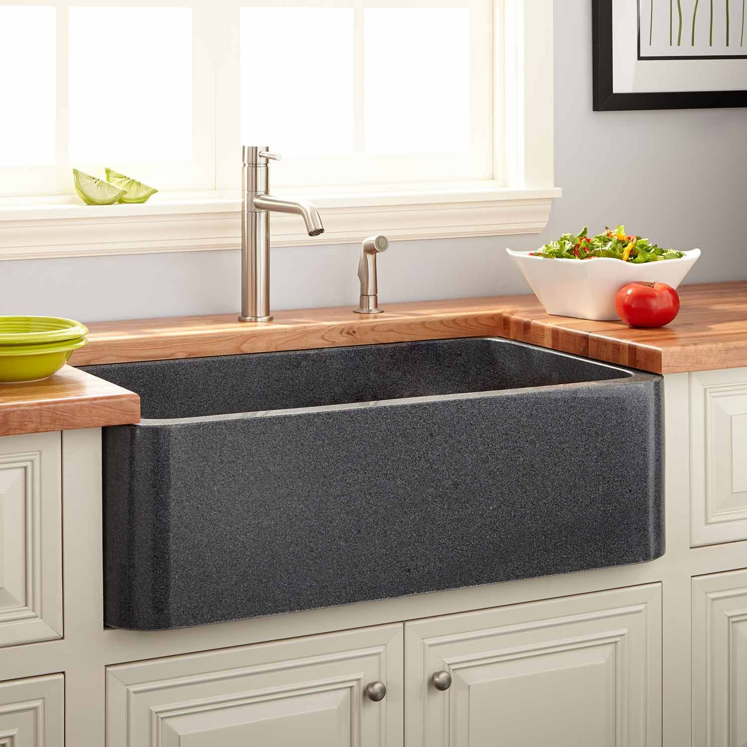 30 Risinger Fireclay Farmhouse Sink Smooth Apron Black Farmhouse Sinks Kitchen With Images Stone Farmhouse Sink Fireclay Farmhouse Sink Kitchen Sink Remodel