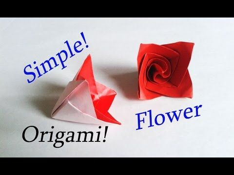 Easy Origami Flower Tutorial Needs Just 10 Minutes Youtube
