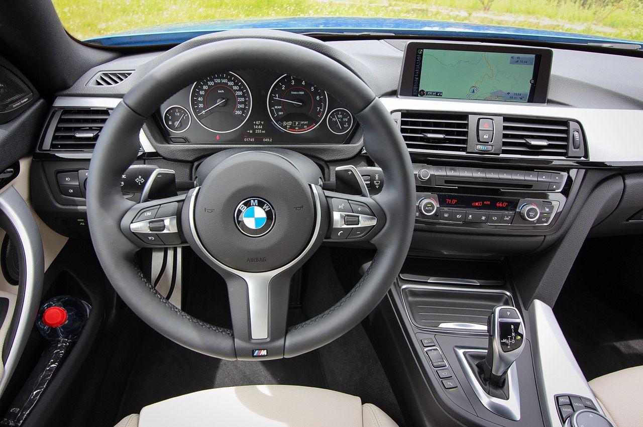 2015 Bmw 428i Gran Coupe M Sport Interior Cockpit Bmw Bavarian Motor Works Gran Coupe