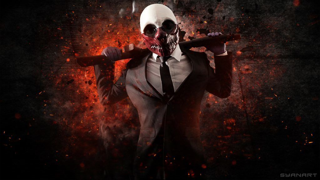 10 Wallpapers Gamer Para Tu Pc Taringa Payday The Heist Payday Payday 2