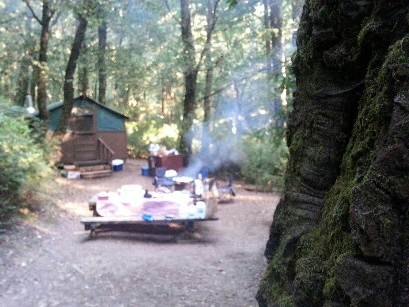 Big Basin tent cabins  Big Basin Redwoods State Park CA Cabin #25 & Big Basin tent cabins  Big Basin Redwoods State Park CA Cabin ...