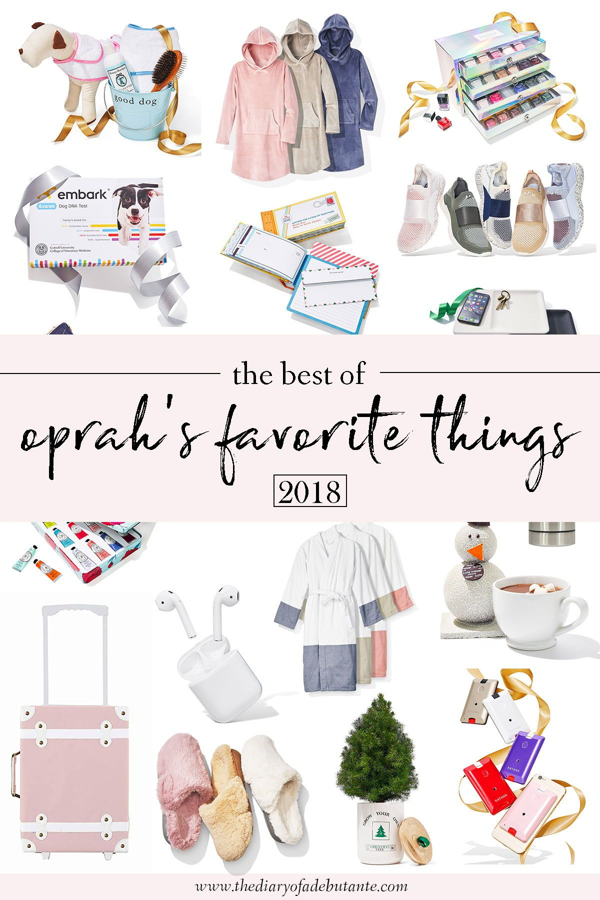 Have you check out this year's list of Oprah's Favorite Things?! There are  so many incredible products and gifts for everyone on your list at all  price ...
