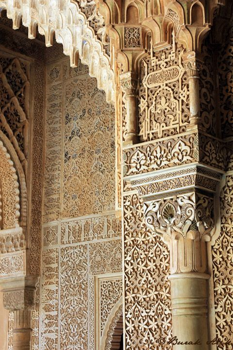 moorish architecture in andalusia alhambra walls andalucia