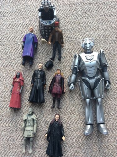 Dr who action #figures #including 12 inch #cyberman & 11th doctor with fez & mop,  View more on the LINK: 	http://www.zeppy.io/product/gb/2/162079804866/