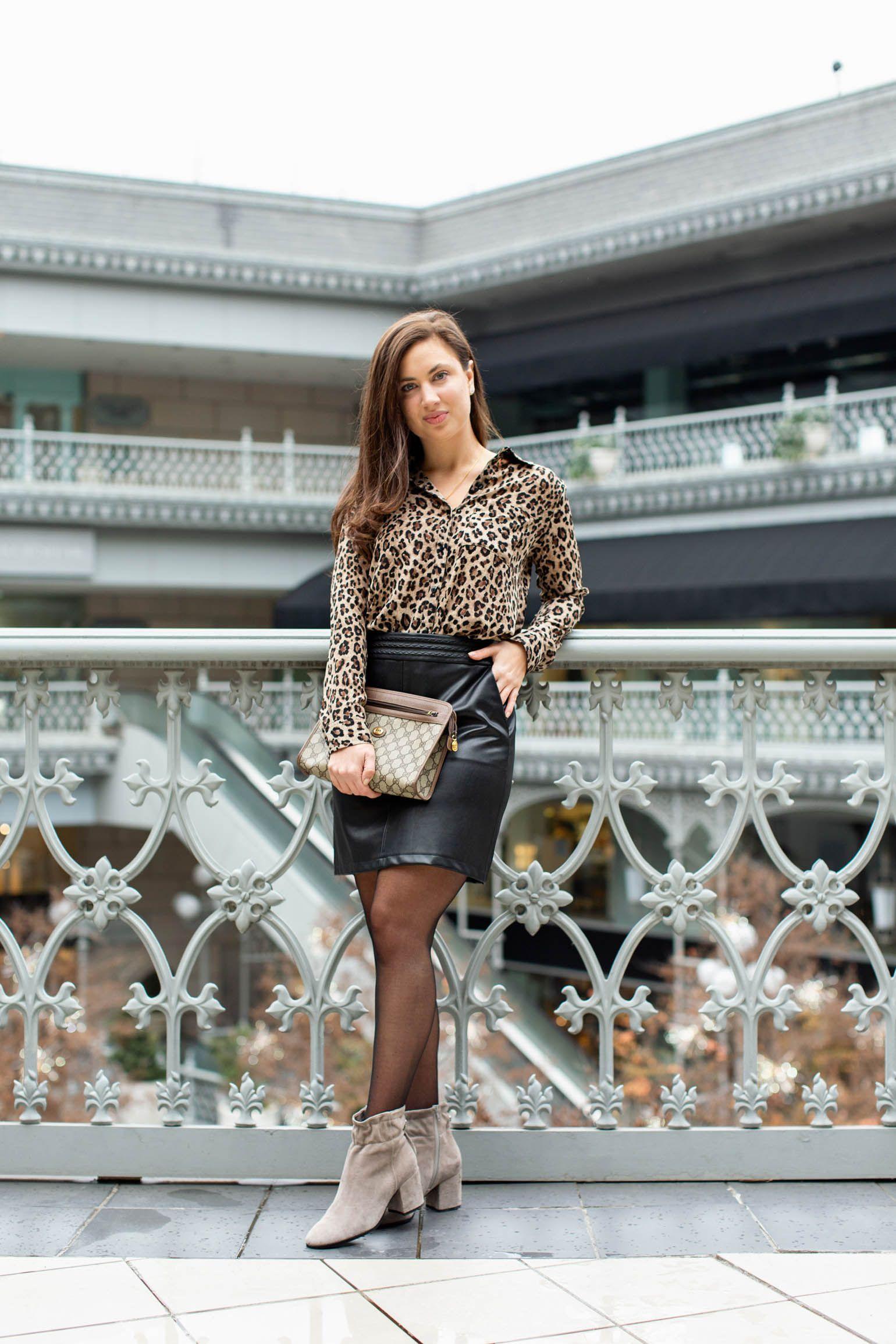 45e1912b208 Dallas fashion blogger style  BP leopard shirt