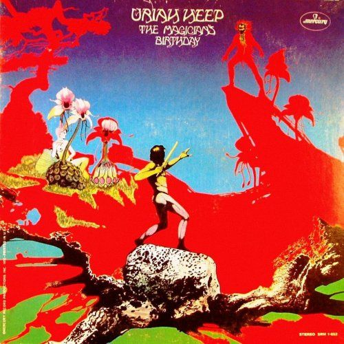 The Magician S Birthday Uriah Heep Cover Art By Roger Dean Album Cover Art Rock Album Covers Classic Album Covers
