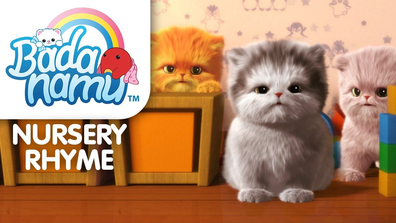 Three Little Kittens Kids Nursery Rhymes Little Kittens Nursery Rhymes
