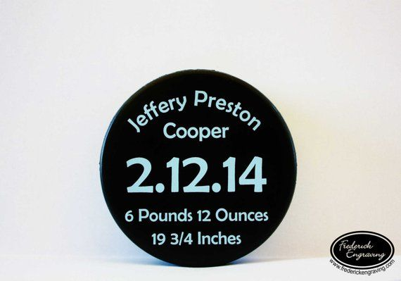 1a46ea3531e Custom Hockey Puck - Personalized Color Printed Regulation Size Puck -  Hockey Gift