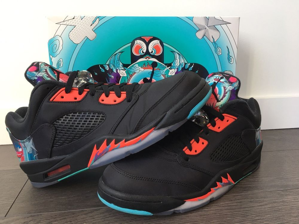 hot sale online 712fc 9ab5e Air Jordan V 5 Low CNY 2016 Chinese New Year size 11 US VNDS ...