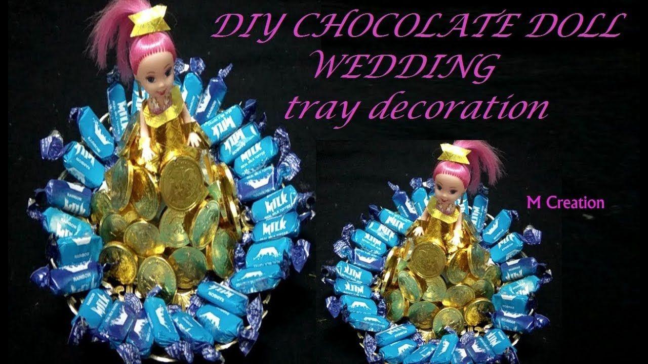 Diy Mehndi Plates : Chocolate wedding tray decoration diy plate