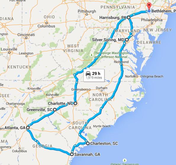 Once Upon A Roadtrip Part 1 Road Trip Savannah Chat Richmond Kentucky