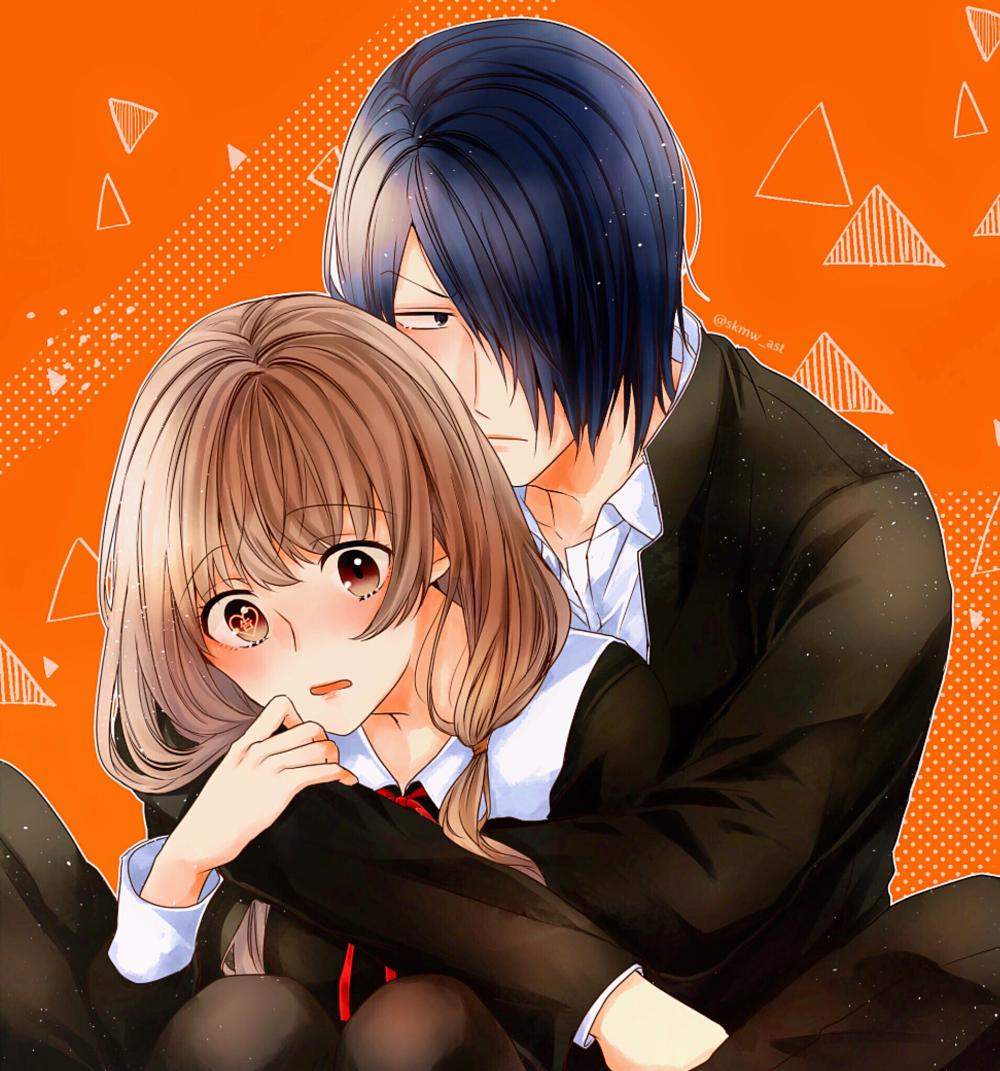 Ishigami Yuu & Iino Miko Casal anime, Anime, Personagens