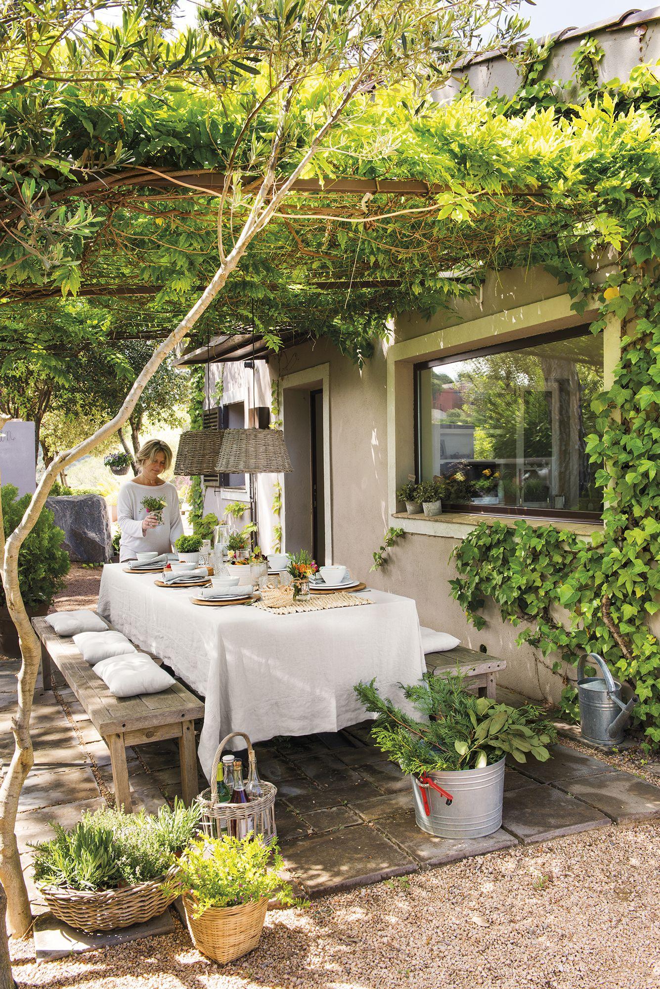 Dsc3894 home pinterest patios terrazas y jard n - Jardines rusticos campestres ...