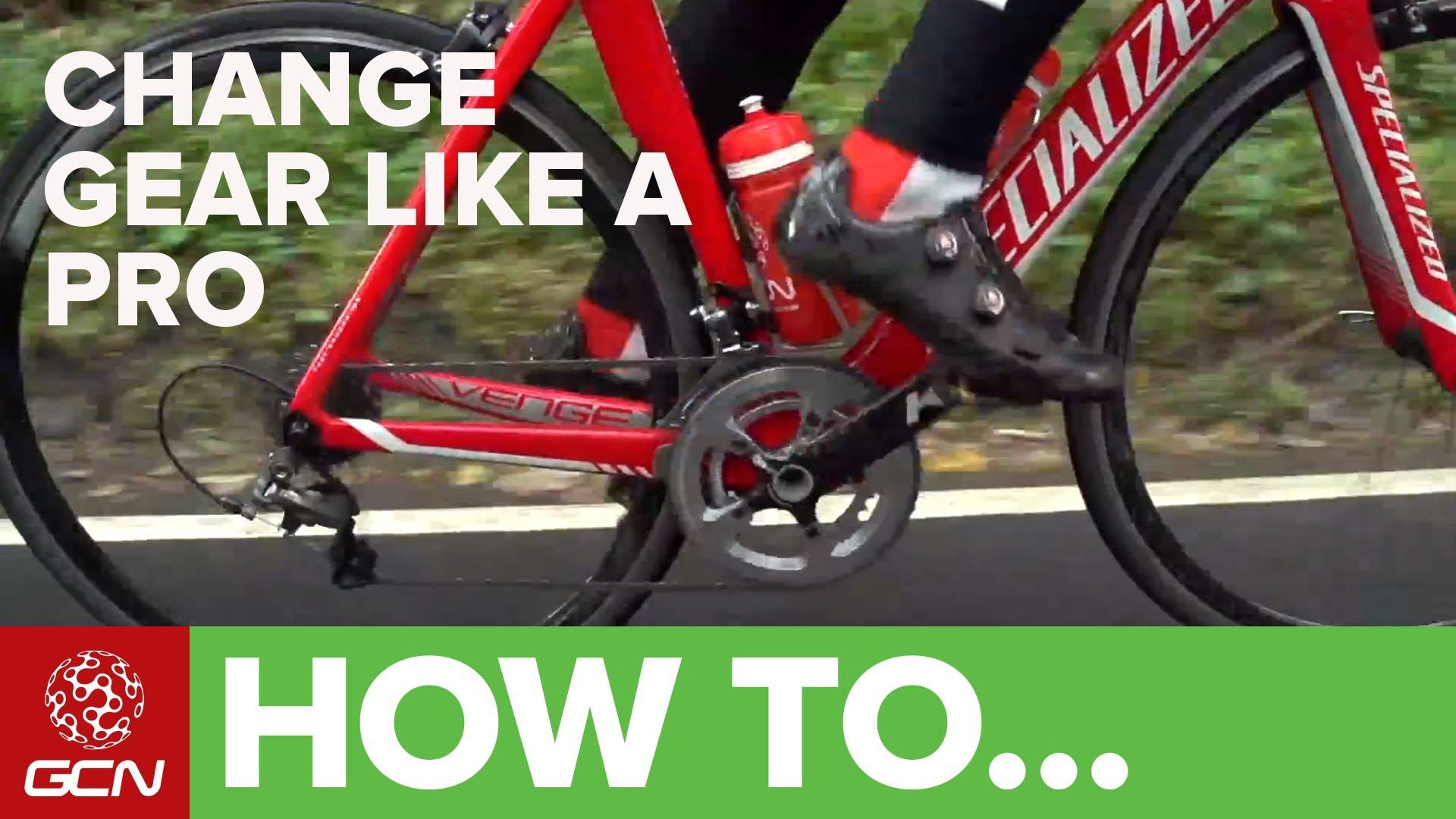 Carry More Momentum And Go Faster On Your Bike By Changing Gear