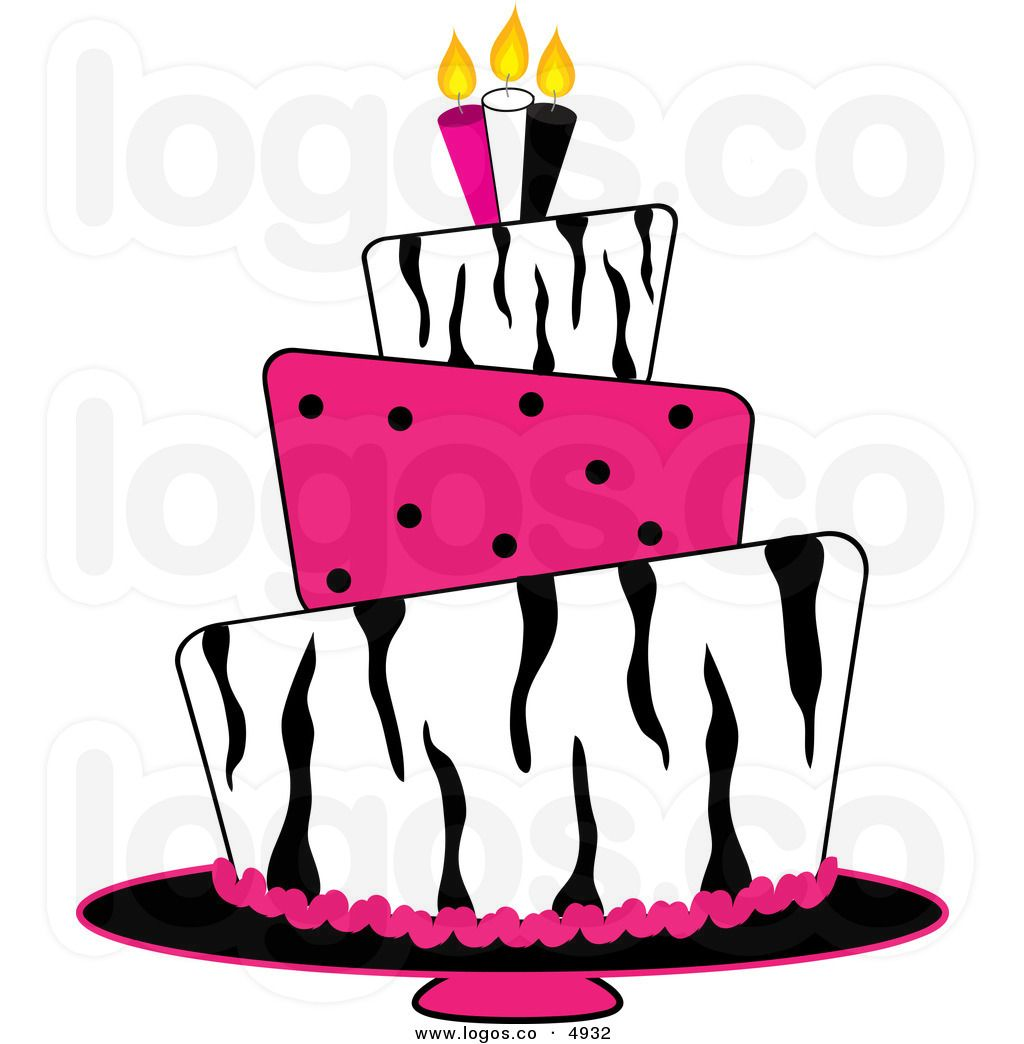 Image of Birthday Cakes Clipart 4655 Download Birthday Clip Art