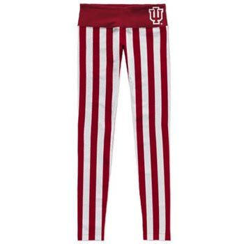 Womens candy striped leggings with IU logo on red band. 92 ...