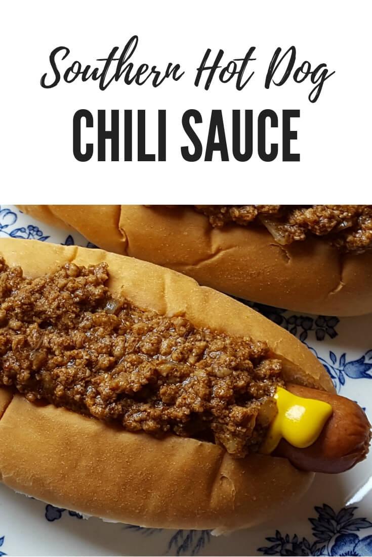 Julia S Southern Hot Dog Chili Sauce Recipe In 2020 Hot Dog Chili Sauce Recipe Hot Dog Chili Hot Dog Sauce Recipe
