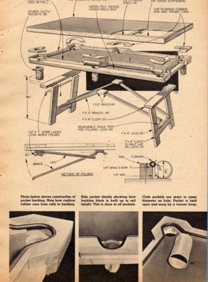 How to build a pool table plans follow these step by step for Pool design drawings
