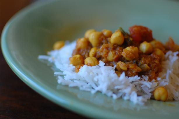Channa Masala from Food.com:   This fabulous chickpea recipe is adapted from Madhur Jaffrey's classic.