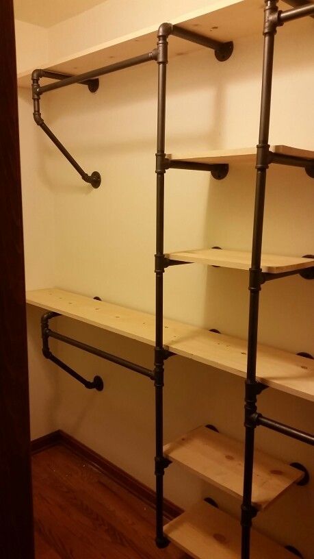 Charmant Pipe Closet System Más