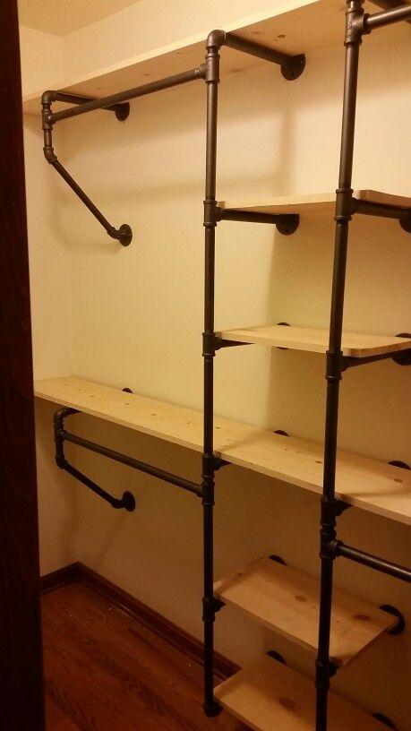 Pipe Closet System Más