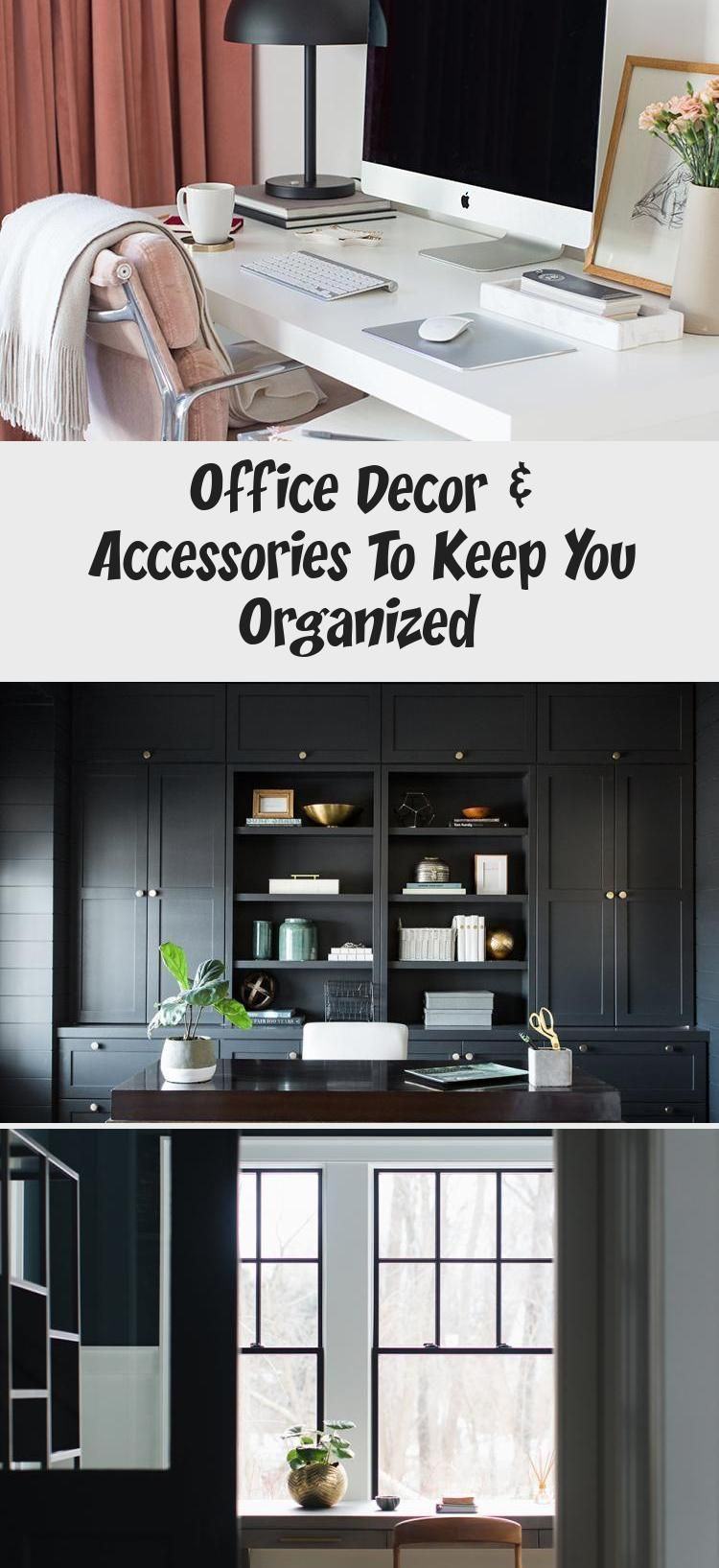 Office Decor Accessories To Keep You Organized Erin S Blog Accessories Blog Decor Erins Office Organized In 2020 Office Decor Decorative Accessories Decor