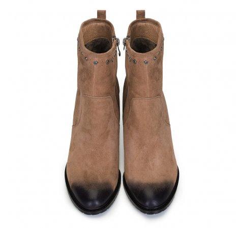 Damskie Botki Na Slupku Zamszowe Wittchen Womens Boots Chelsea Boots Boots