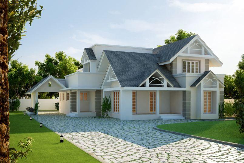 Contoh Gaya Desain Rumah Eropa Gambar 7 Gaya Desain Rumah Eropa