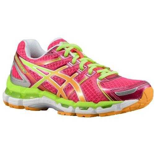 Asics Gel Kayano 19 Women S Running Shoes Raspberry Mango Lime Asics Gel Kayano 19 Neon Running Shoes Asics