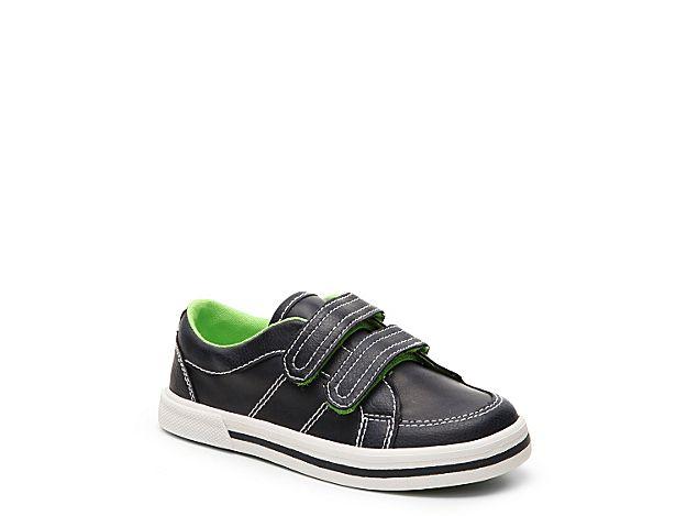 Boys Braden Toddler Sneaker -Navy/Green