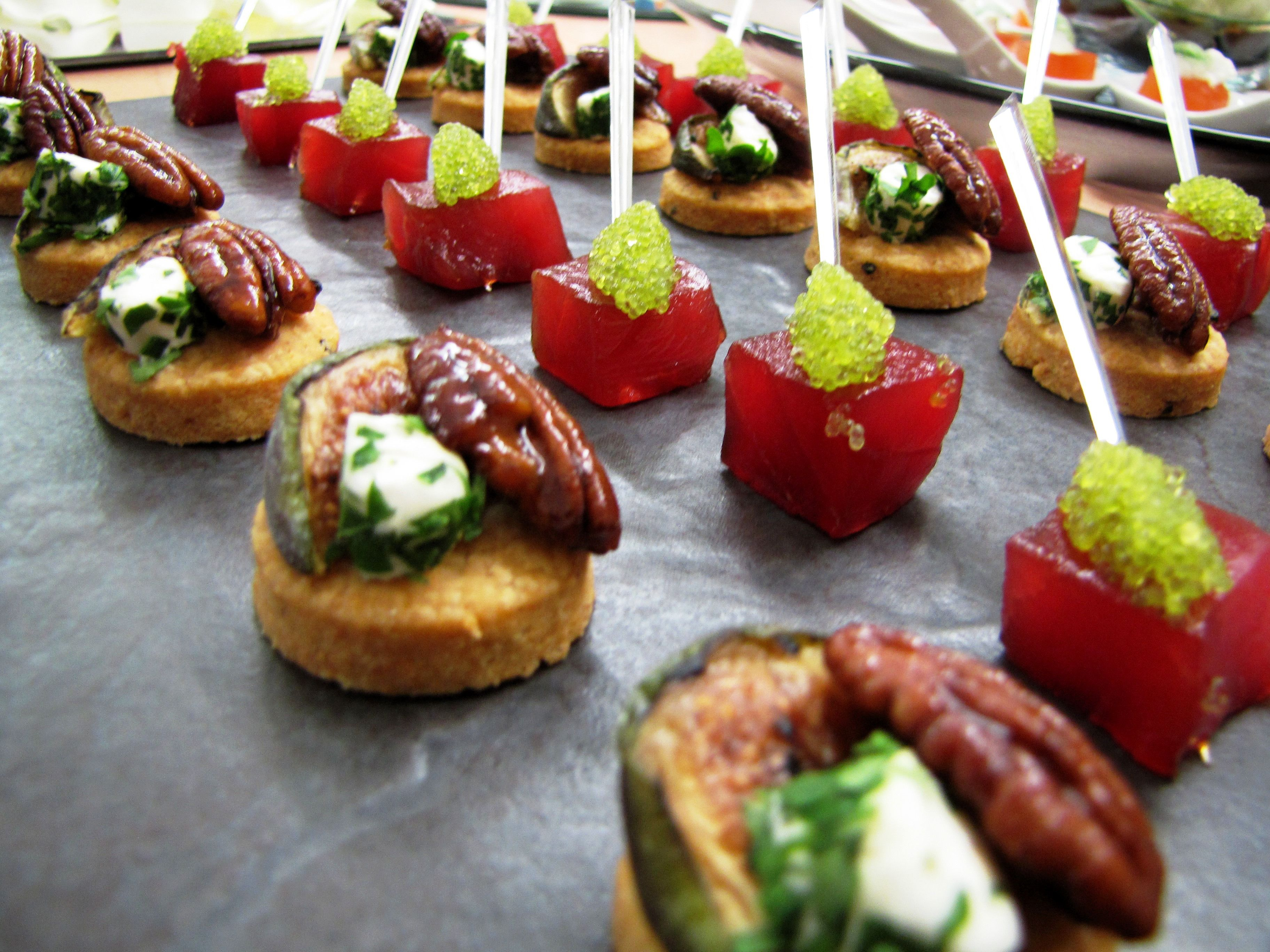 Canape Ideas Canapes Recipes Food Wedding Buffet Food
