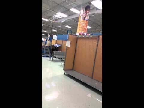 Exclusive Footage INSIDE Closed Walmart In Tulsa Ok