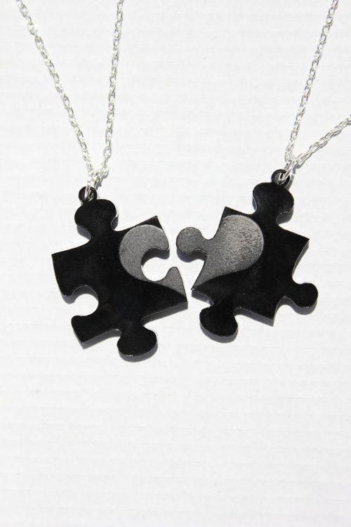 43eb889fe1 couple necklace | Tumblr. couple necklace | Tumblr Best Friend Necklaces ...