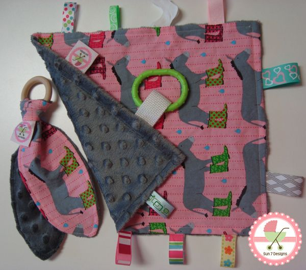 Custom designed personalized baby blankets and other baby products starting at $10 at www.sun7designs.com.  Check out our Facebook page for monthly specials http://www.facebook.com/sun7designs
