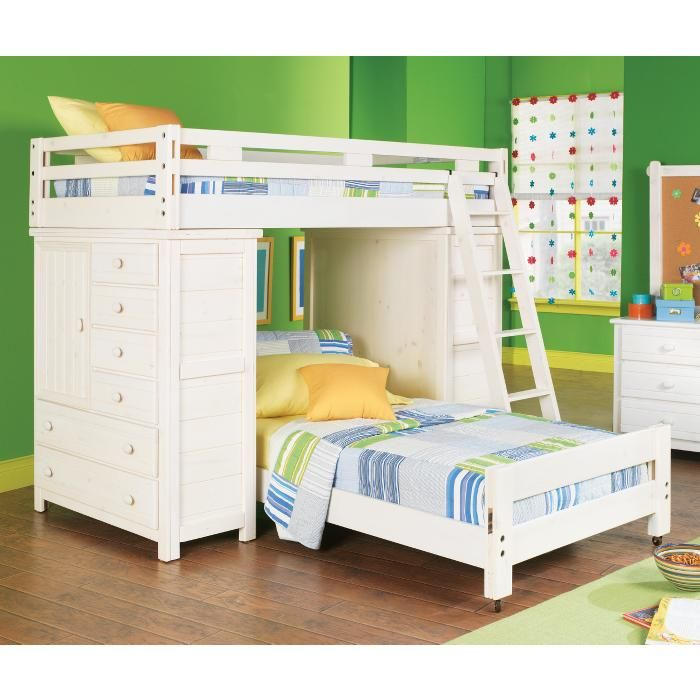 Bunk Beds With Storage Built Ins Kids Bunk Beds Kid Beds White Bunk Beds