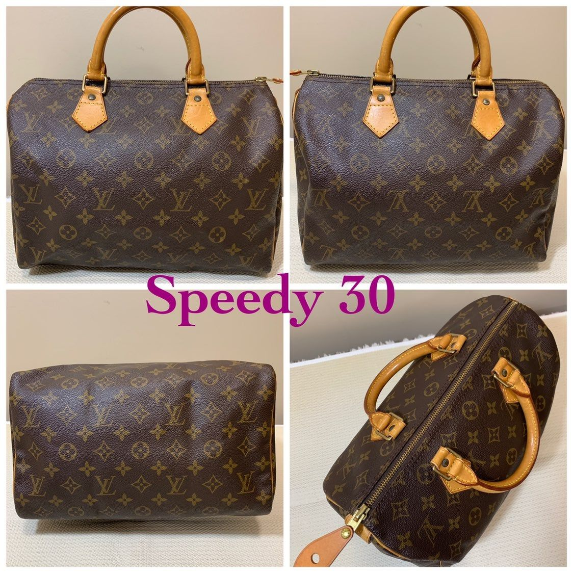 Pre Owned Authentic Louis Vuitton Speedy 30 Hand Bag Only In Good Condition But Has Few Rubs And Louis Vuitton Speedy 30 Louis Vuitton Satchel Louis Vuitton