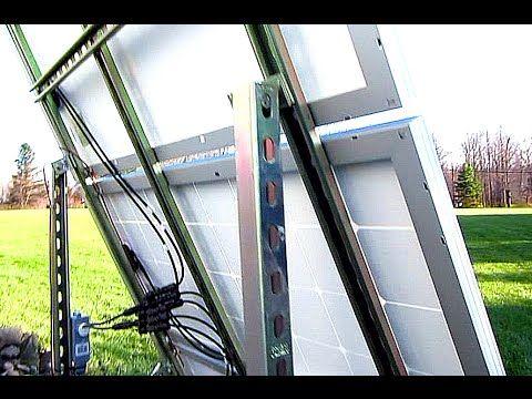 Diy Solar Panel System Off Grid Ground Mount 300 Watts Diy Solar Panel Solar Panels Best Solar Panels