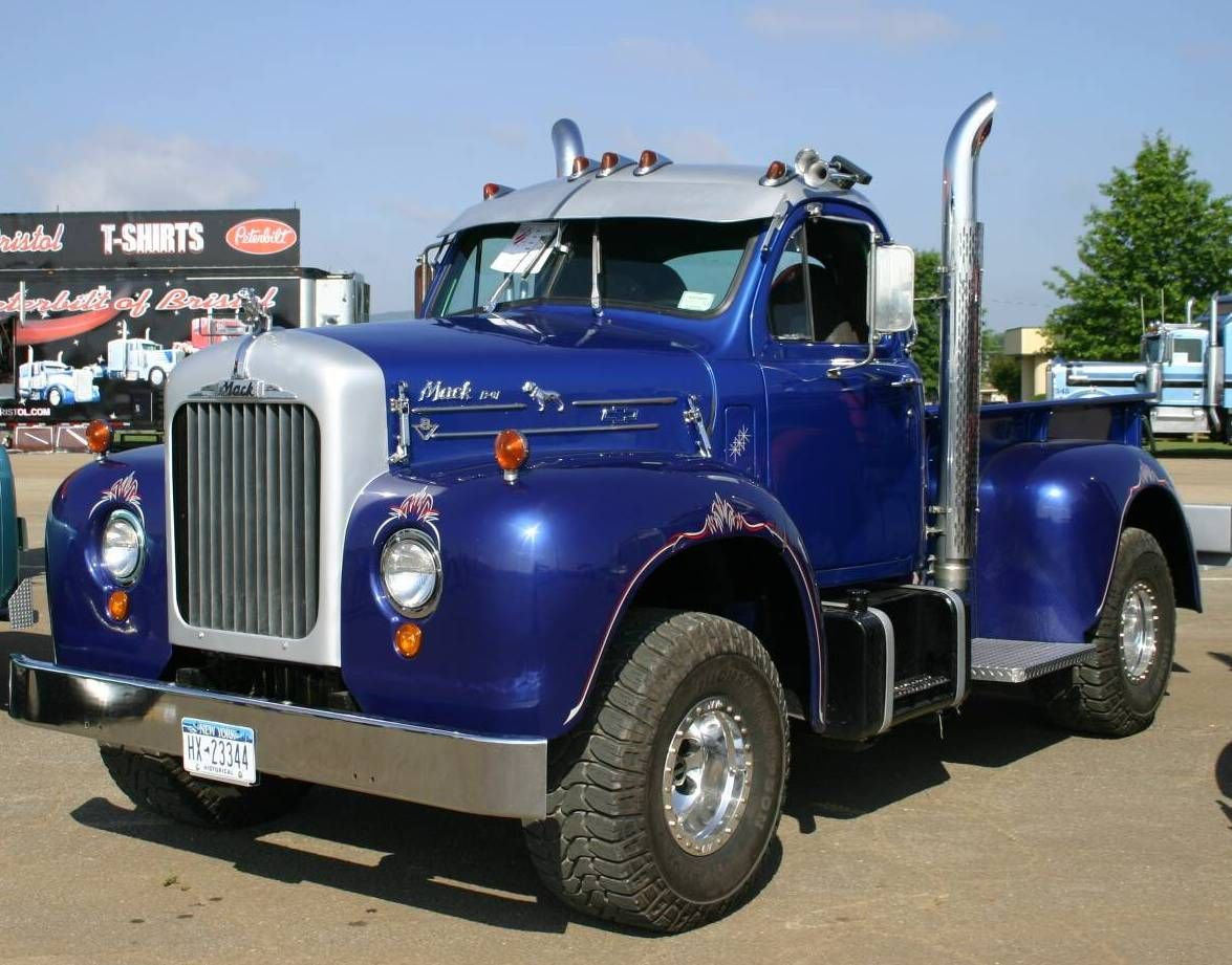 B61 Mack Truck For Sale >> 1959 Mack B-61 Pickup Truck, Would buy this one for My Daddy cause he is rough on things and it ...