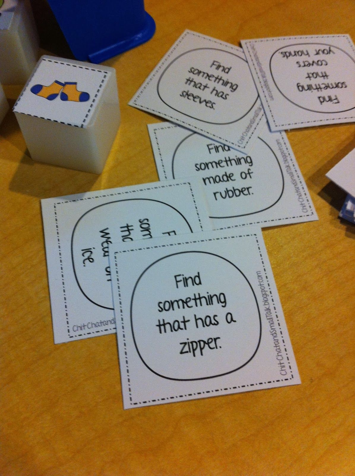 Chit Chat and Small Talk: Don't Break the Ice Game Companion for Winter Clothing Vocabulary