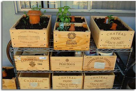 reciclando una caja de vino buenas ideas para hacer uso de objetos que en ocasiones inservibles en esta caso cajas de vino - Cajas De Vino Decoradas