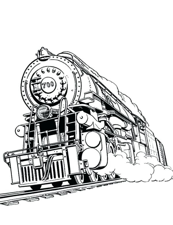Printable Train Coloring Pages Ideas | Train coloring ...