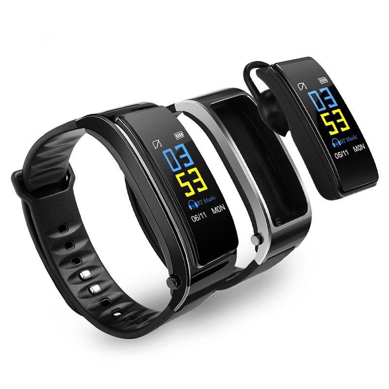 Driving Call #Bracelet Smart Watch #Bluetooth #Earphone