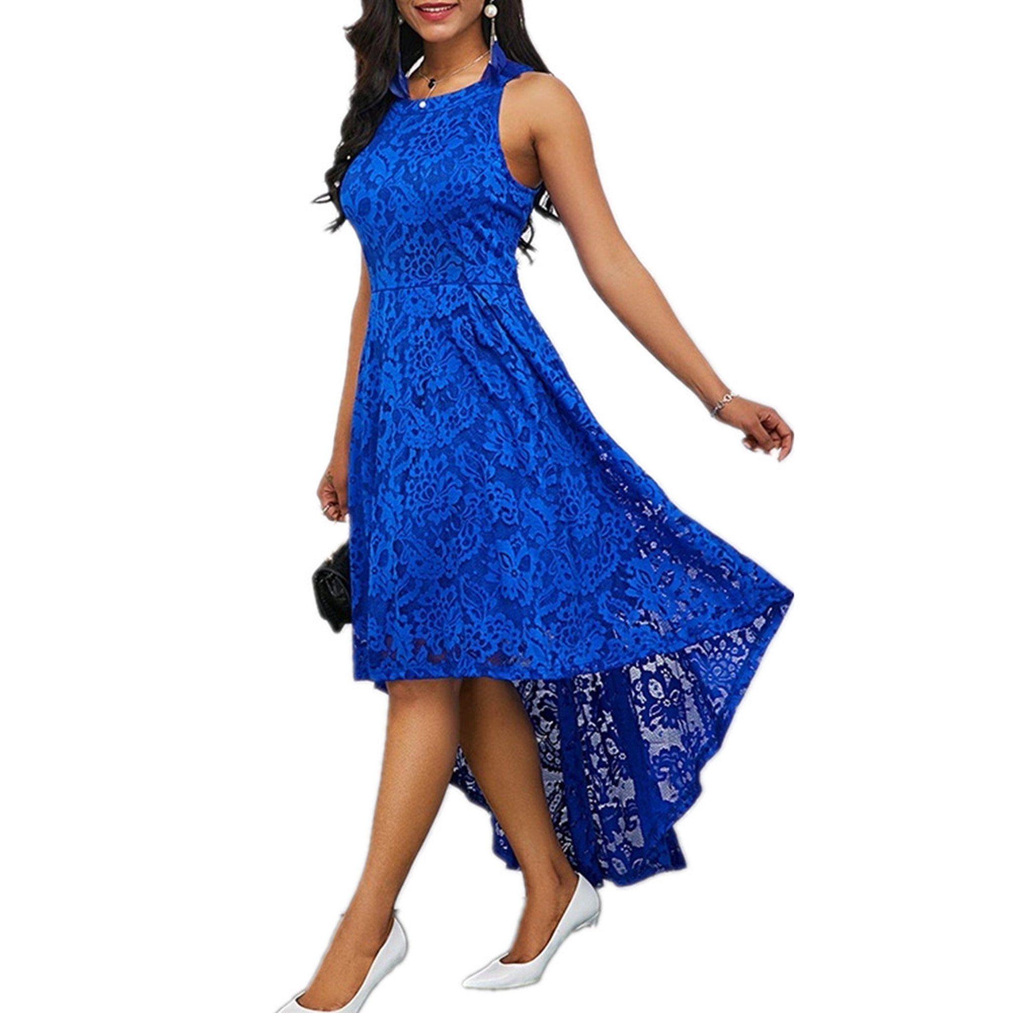 Sysea Sleeveless Lace Patchwork Women Irregular Dress Walmart Com Midi Cocktail Dress Dresses Types Of Dresses [ 2000 x 2000 Pixel ]